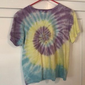 Shop re done tie dye tee